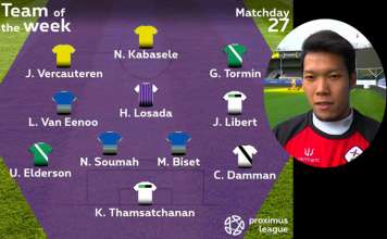 Proximus-League-Team-of-the-week